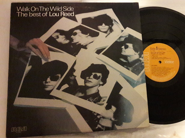 Lou Reed - Walk on the wild side - RCA PL.12001 - UK 1977