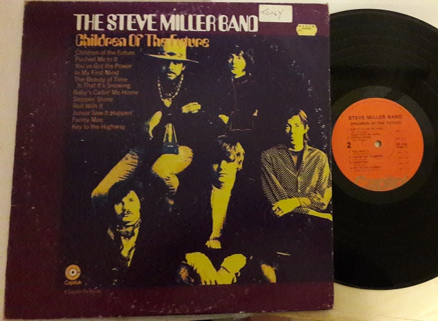 Steve Miller Band - Children of the Future - Capitol SF.718 VG+