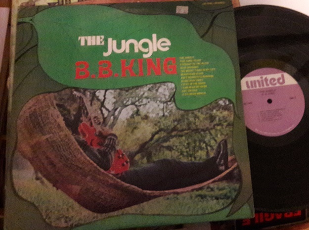 B.B. King - The Jungle - United US.7742 USA 1960's VG+