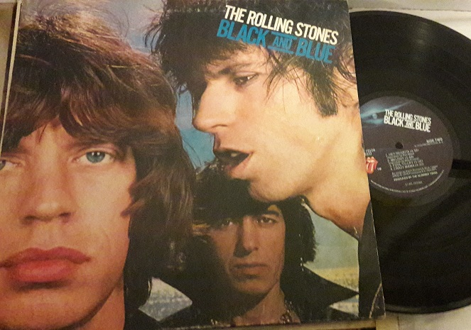 The Rolling Stones - Black and Blue - COC 79104 USA 1976 VG
