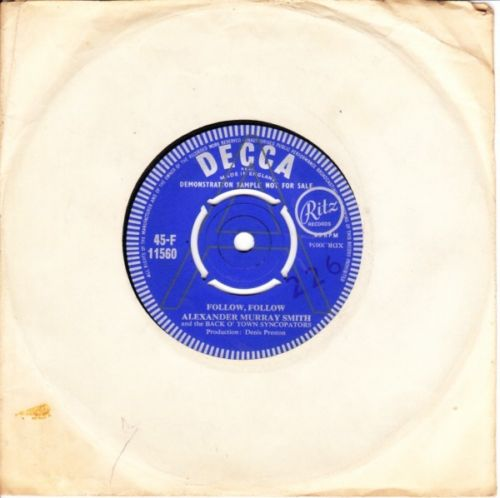 Alexander Murray Smith - Follow Follow - Decca Demo 3541
