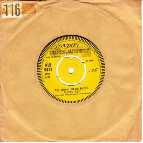 Alvino Rey - Steel Guitar Rag - LONDON DEMO N MINT 2849