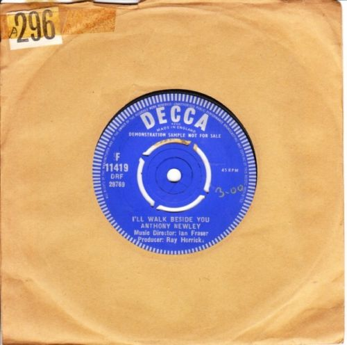 Anthony Newley - D-Darling - Decca Demo 3081
