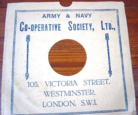 Army & Navy Store 105 Victoria Street Westminster S.W.1
