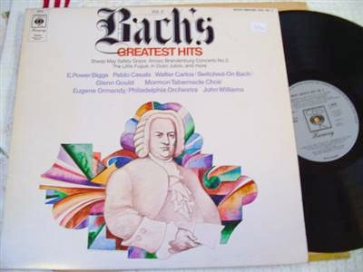 BACH - GREATEST HITS VOL 2 - ORMANDY - CBS