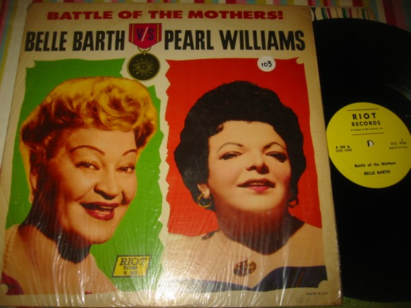 BELLE BARTH & PEARL WILLIAMS - BATTLE MOTHERS - RIOT