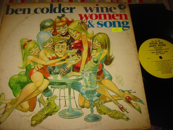 BEN COLDER - WINE WOMEN & SONG - MGM PROMO