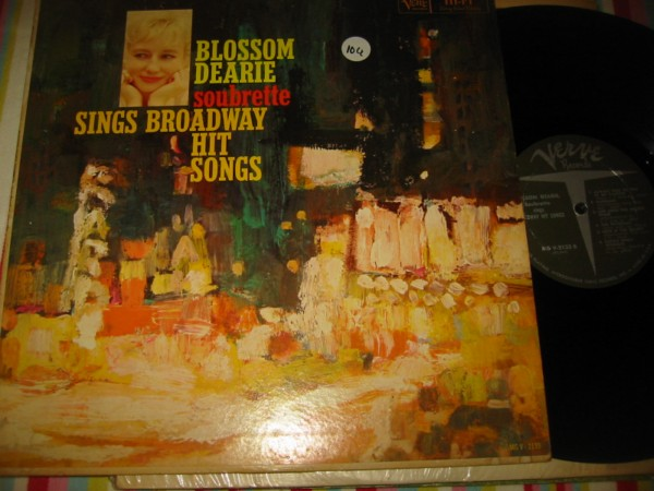 BLOSSOM DEARIE - SOUBRETTE - VERVE RECORDS