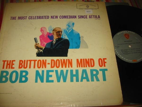 BOB NEWHART - BUTTON DOWN - WARNER { 120