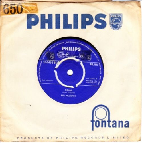Billy McGuffie - NAOMI - Philips UK 3635