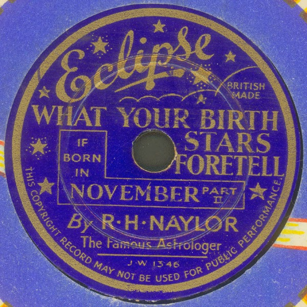 Eclipse - R.H. Naylor - Birth Star { December }