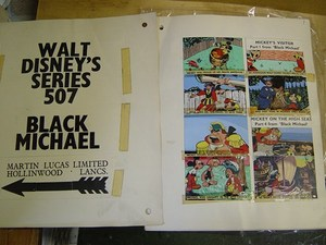 Original MiniCine Artwork - Walt Disney - Black Michael