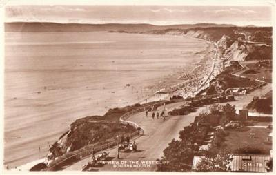 Bournemouth - West Cliff - Real Photo