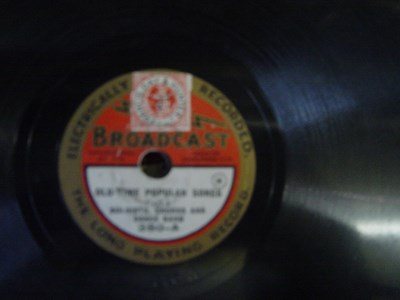 Broadcast # 380 - Old Time Popular Songs - Chorus Orchestra