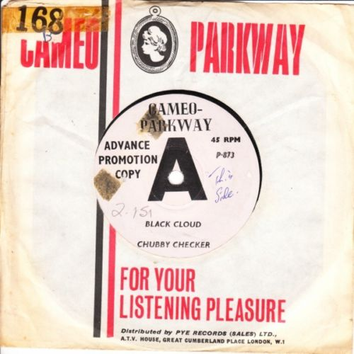 CHUBBY CHECKER - BLACK CLOUD - CAMEO PARKWAY DEMO 3132