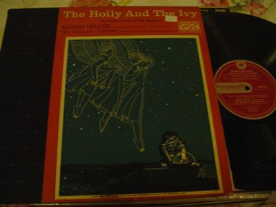 ALFRED DELLER - HOLLY & THR IVY - VANGUARD {1184