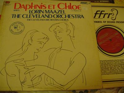 RAVEL - DAPHNIS & CHLOE - MAAZEL - LONDON { 1195