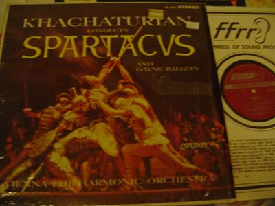 KHACHATURIAN - SPARTACUS - LONDON CS 6322 { 1196