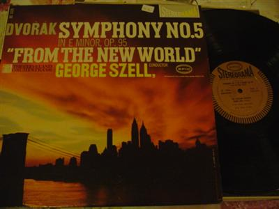 DVORAK - SYMPHONY No 5 NEW WORLD - SZELL EPIC { 1146