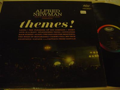 ALFRED NEWMAN - THEMES - CAPITOL { 1258