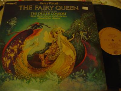 PURCELL - FAIRY QUEEN - DELLER - VANGUARD 2LP { 1277