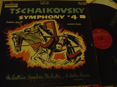 TCHAIKOVSKY - SYMPHONY No 4 - BROWN - REMMINGTON { 1297