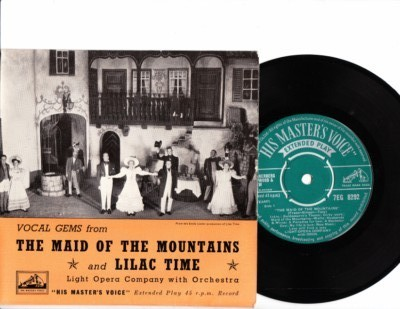 Maid of the Mountains - Vocal Gems - HMV EP