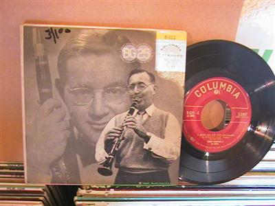 BENNY GOODMAN - BG 25 - 3 DISC SET COLUMBIA EP