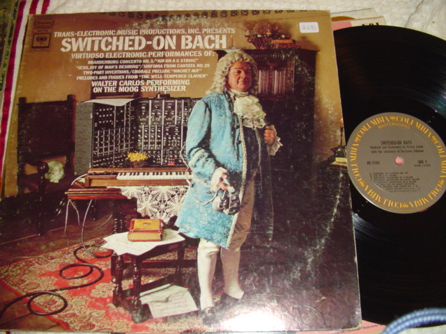 WALT CARLOS - SWITCHED ON BACH SYNTHESIZER - COLUMBIA