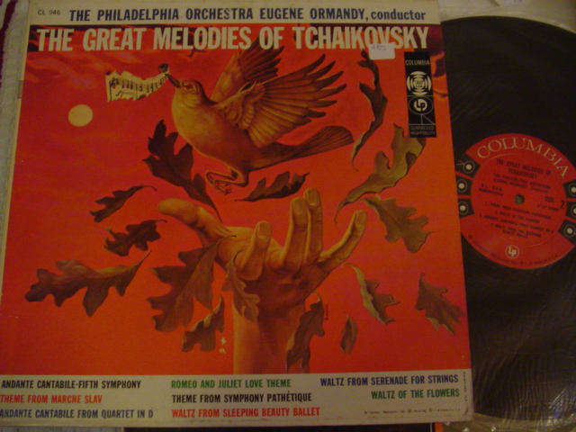 EUGENE ORMANDY - TCHAIKOVSKY GREAT MEOLDIES - COLUMBIA