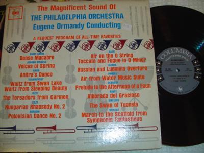 EUGENE ORMANDY - MAGNIFICENT SOUND - COLUMBIA 2LP