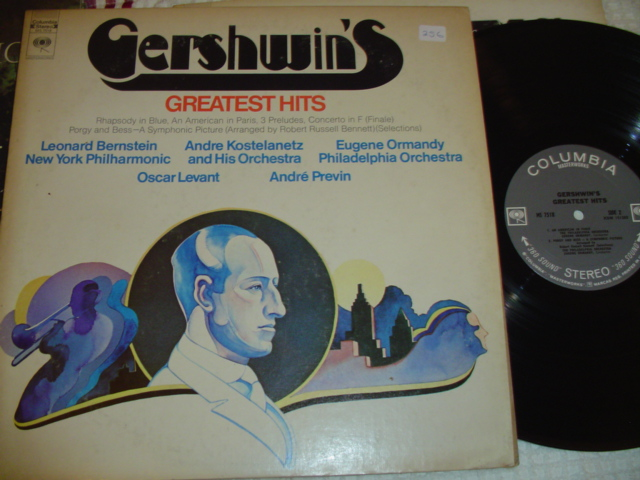 GERSHWIN - GREATEST HITS - COLUMBIA { 256