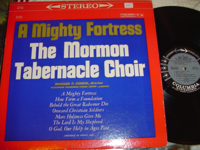 MORMON TABERNACLE CHOIR - MIGHTY FORTRESS - COLUMBIA