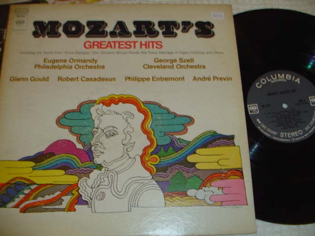 MOZART - GREATEST HITS - COLUMBIA { 257