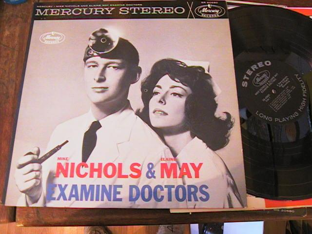 MIKE NICHOLS ELAINE MAY - EXAMINE DOCTOR - MERCURY STEREO