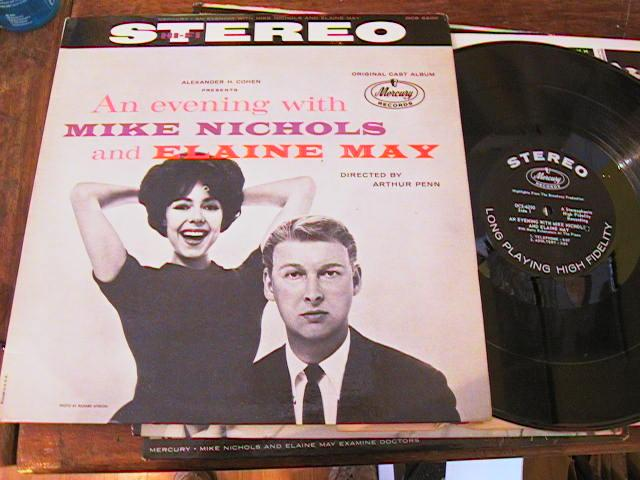 MIKE NICHOLS ELAINE MAY - EVENING WITH - MERCURY STEREO