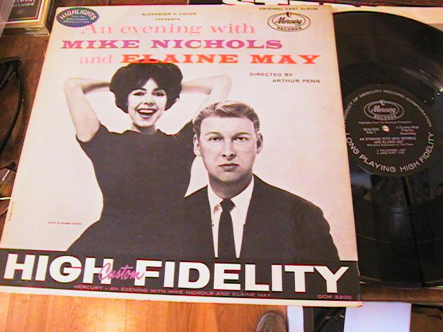 MIKE NICHOLS ELAINE MAY - EVENING WITH - MERCURY MONO