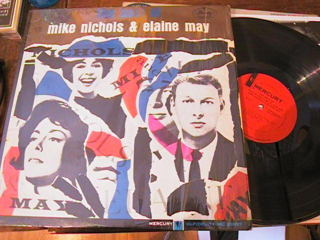 MIKE NICHOLS ELAINE MAY - THE BEST OF - MERCURY MONO