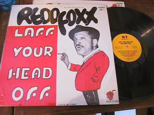 RED FOXX - LAUGH YOUR HEAD OFF - MF RECORDS