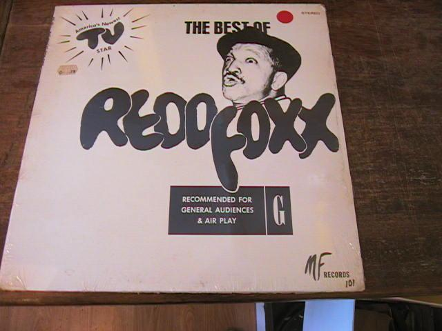 RED FOXX - THE BEST OF - MF RECORDS SEALED
