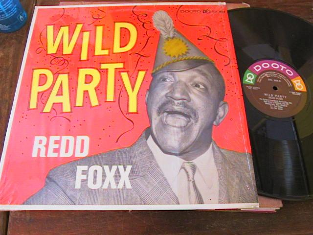 RED FOXX - WILD PARTY - DOOTO RECORDS