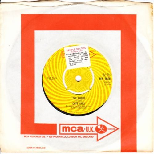 Cats Eyes - The Looser / Circus - MCA 1970 3063