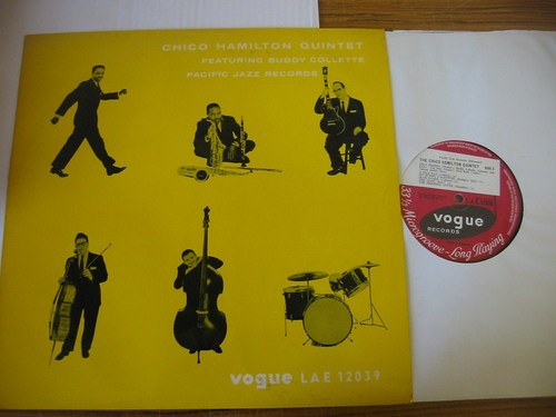 Chico Hamilton Quintet - Vogue UK 1950s J 1972