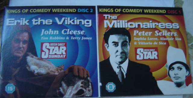 Erik The Viking - Cleese - The Millionairess Sellers - 2 DVD