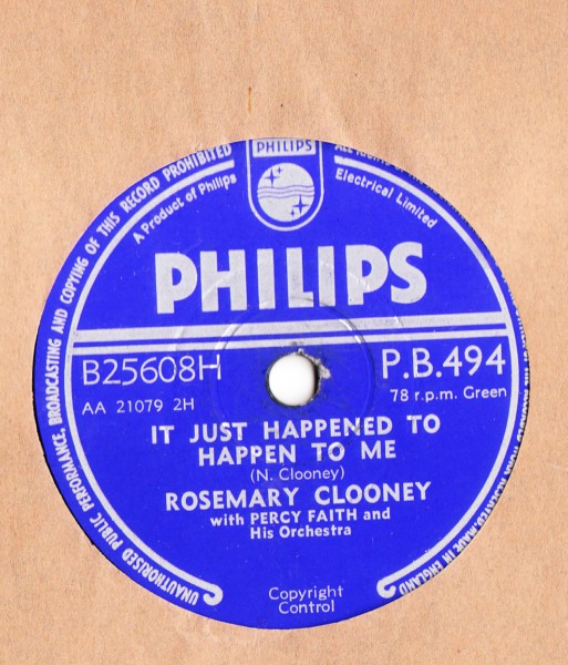 Rosemary Clooney - Hey There - Philips UK