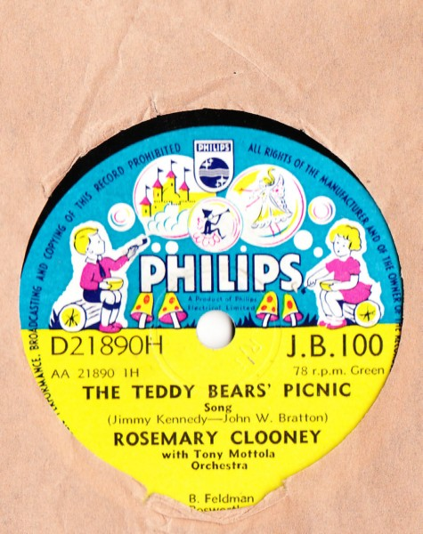 Rosemary Clooney - Teddy Bears Picnic - Philips UK