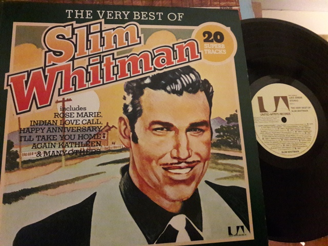 Slim Whitman - CThe Very best of - UA. UAS.29892 Excellent