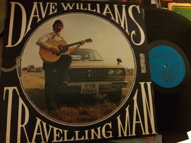 Dave Williams - Travelling Man - Double H DH.104 UK 1978 EX