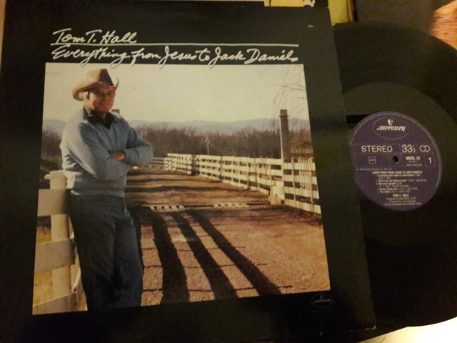 Tom T. Hall - Jesus to Jack Daniels - Mercury MERL.31 1983