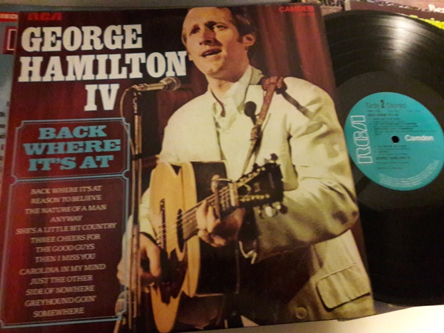 George Hamilton IV - Back where it's at - RCA CDS.1126 UK 1973